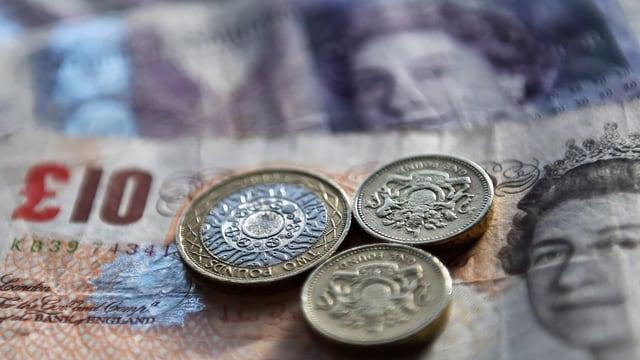 Daners britannics, il pfund sterling.