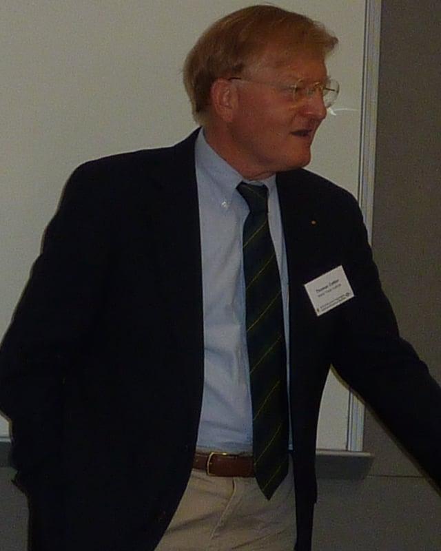 Europarechtler Thomas Cottier.