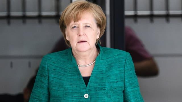 Kanzlerin Angela Merkel will eine gesamteuropäische Lösung des Problems erreichen.