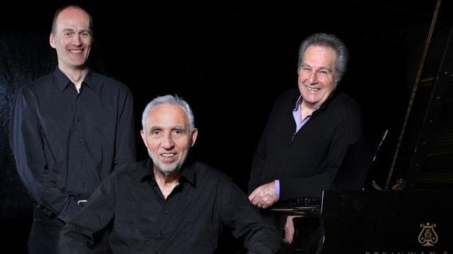 Das Trio Bach um Jacques Loussier (Mitte, sitzend).