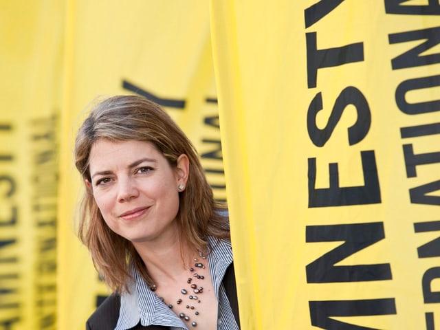 Amnesty-Schweiz-Geschäftsleiterin Manon Schick