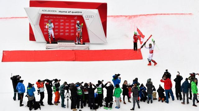 Adelboden Ski-Weltcup
