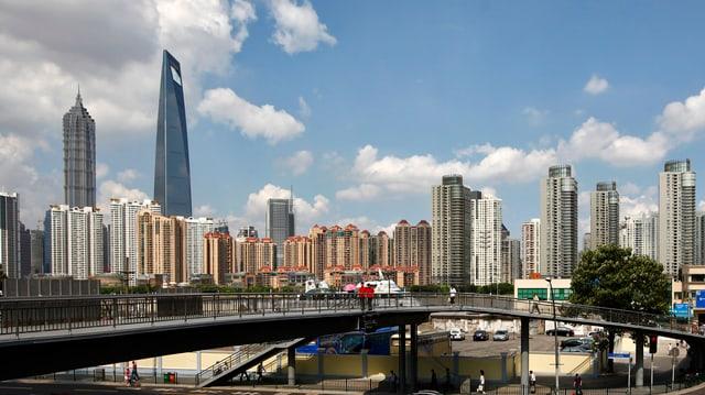 skyline da shanghai