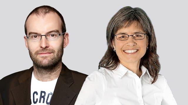 Daniel Leiser und Rosmarie Naef