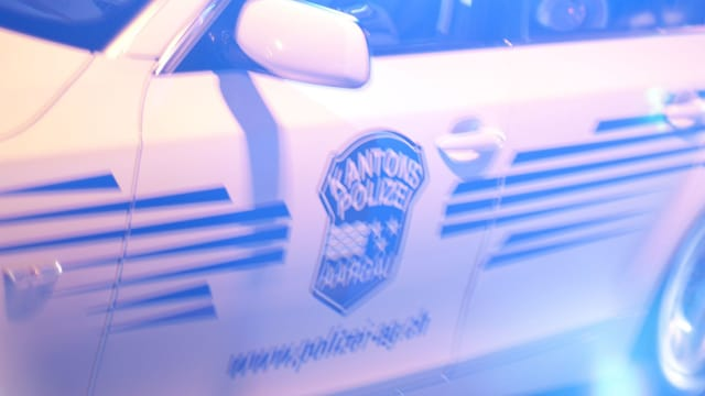 Streifenwagen Kantonspolizei Aargau