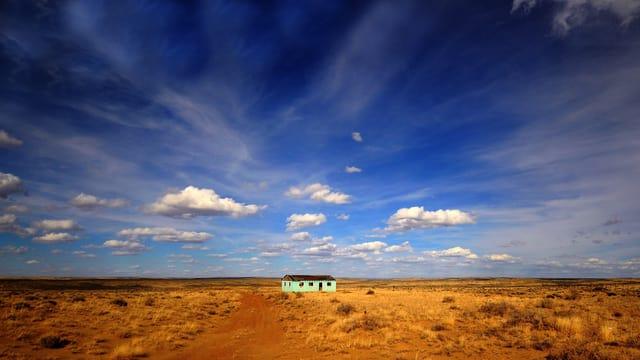 Der Himmel über New Mexico.