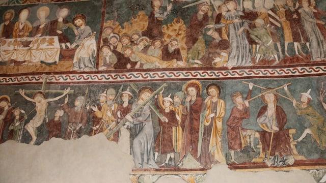 """Extract da la pictura dal """"Meister da Vuorz""""."""