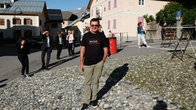 L'organisatur Andri Gritti