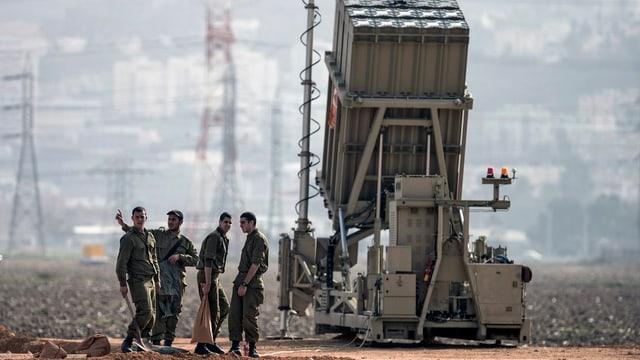 Israelischer Raketenwerfer
