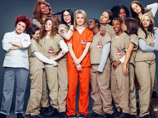 Der Cast von «Orange Is the New Black»: Echte Diversität.