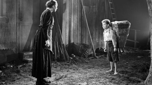 Video «Das Menschlein Matthias - Spielfilm von Edmund Heuberger, CH 1941» abspielen