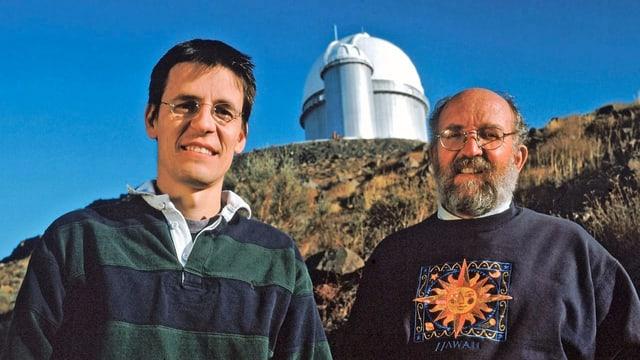 Didier Queloz (links) und Michel Mayor