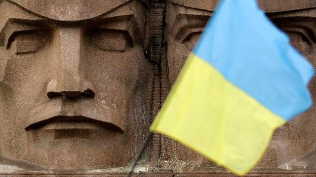 Bandiera da l'Ucraina.