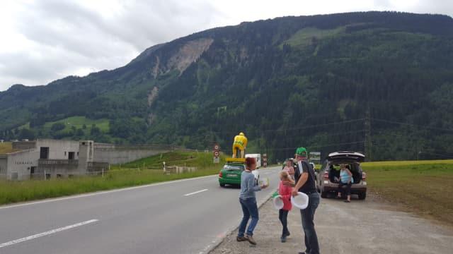 Tour de Suisse a Mustér.