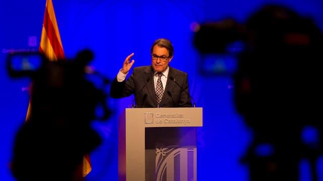 Artur Mas, primminister da la Catalugna.