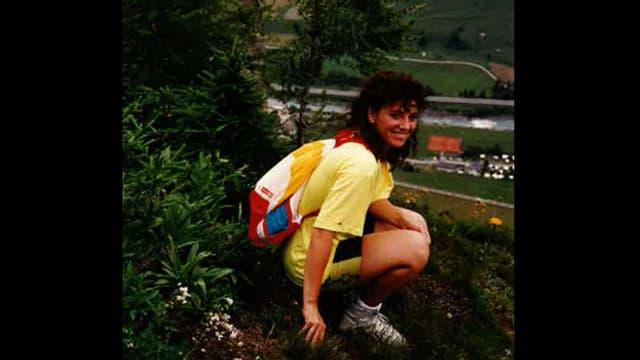 Marietta Tomaschett im Velofahr-Trikot.