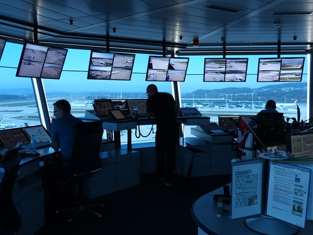 Büro im Tower