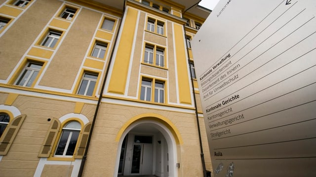 Eingang des Schwyzer Verwaltungsgerichts