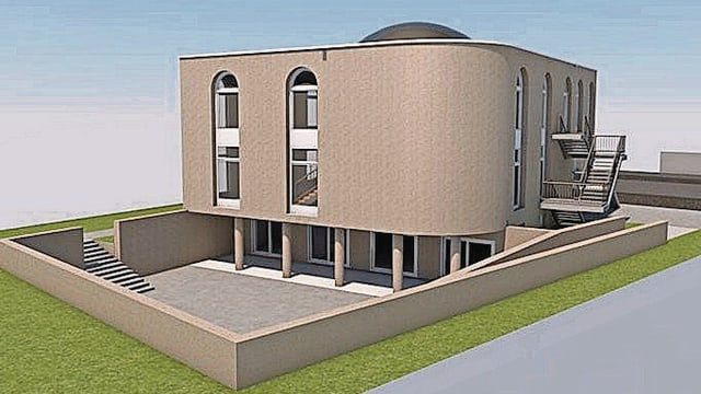 Visualisierung der Moschee in Frauenfeld