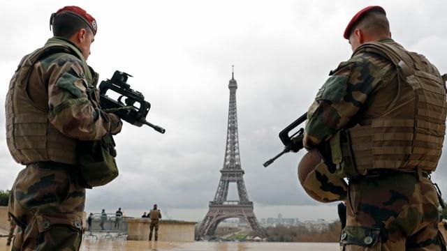 La Tur d'Eiffel a Paris.
