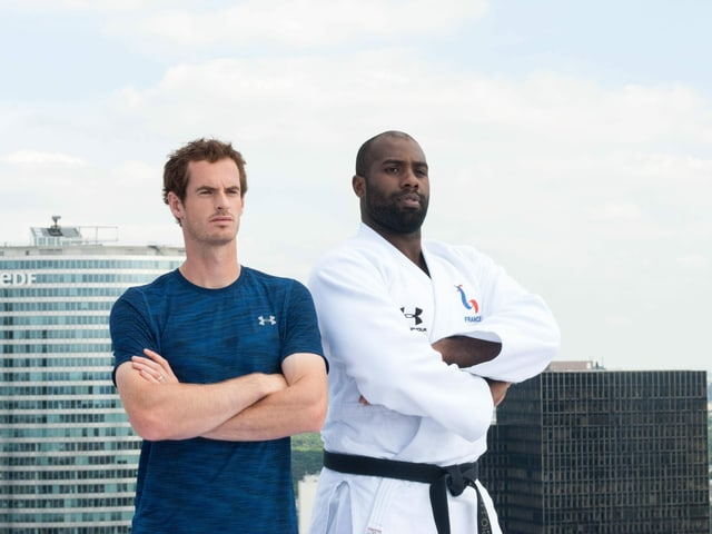 Teddy Riner Andy Murray