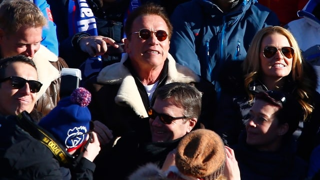 L'actur Arnold Schwarzenegger è in giast regular tar la cursa rapida a Kitzbühel.