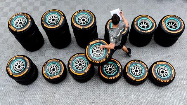 Pirelli wird keine neuen Reifen einsetzen.