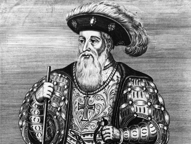 Porträt Vasco da Gama