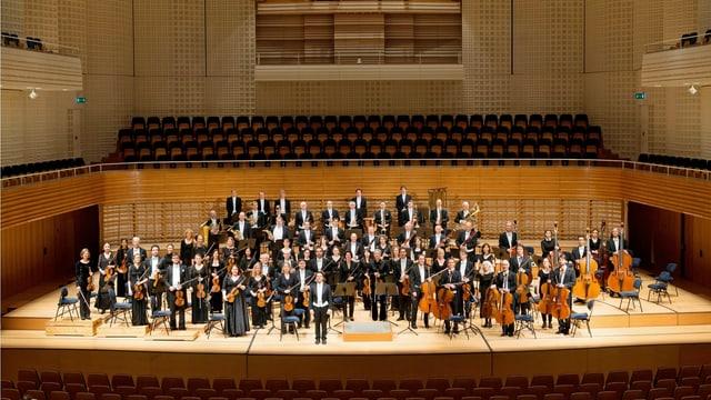 Gesamtbild des Luzerner Sinfonieorchesters