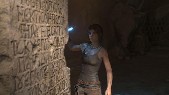 Lara Croft hatte in älteren Videospielen grössere Brüste. Heute sind sie zwar zugegebenermassen immernoch gross, aber kleiner.