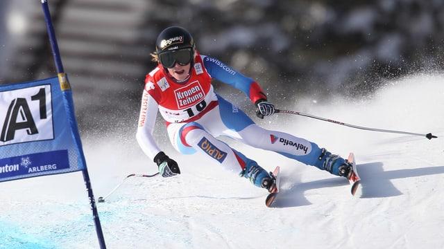 Per entant nagin return per Lara Gut e cumpognas. Il 2013 era la davos cursa mundiala da las dunnas a St. Anton.