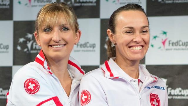 Timea Bacsinszky e Martina Hingis