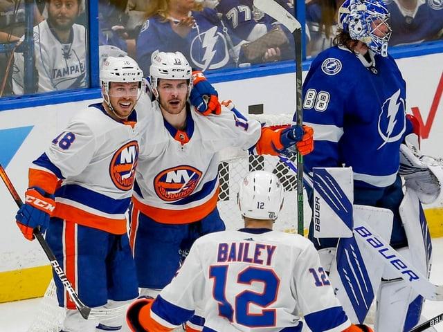 Die New York Islanders.