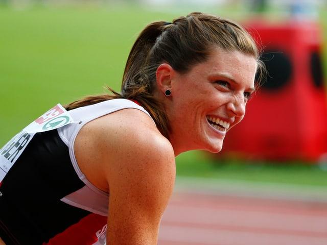 Lea Sprunger lief die schnellste Zeit über 400 Meter.