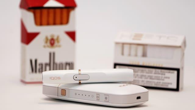 E-Zigaretten und reguläre Zigis