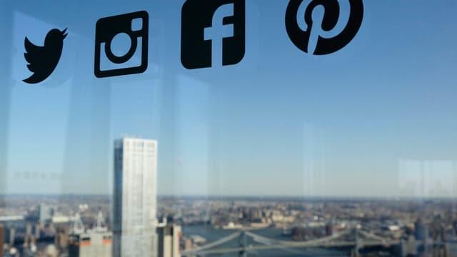 En il fund la citad da New York e sura segns per Twitter, Facebook e co