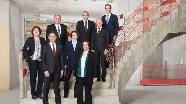 Basler Regierung im Rohbau