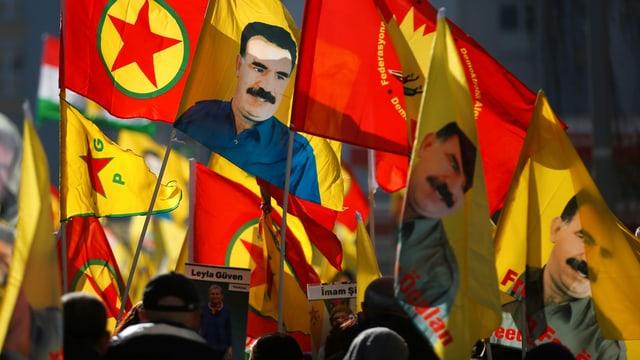 PKK-Anhänger demonstrieren in Strassburg