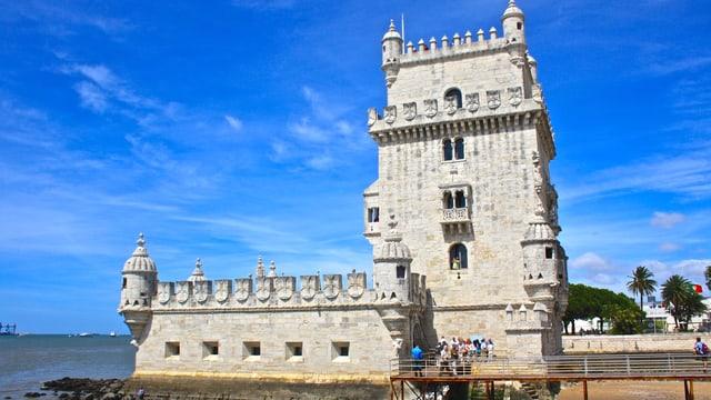 In der portugiesischen Hauptstadt Lissabon zeigte das Thermometer am Samstag 41 Grad.