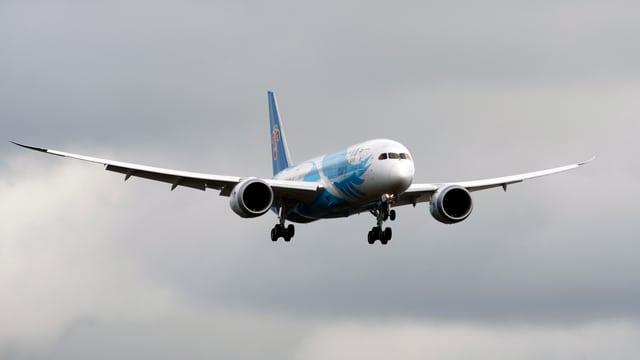 Der Dreamliner der Boeing.