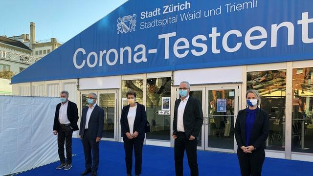 Stadt- und Regierungsräte von Zürich.
