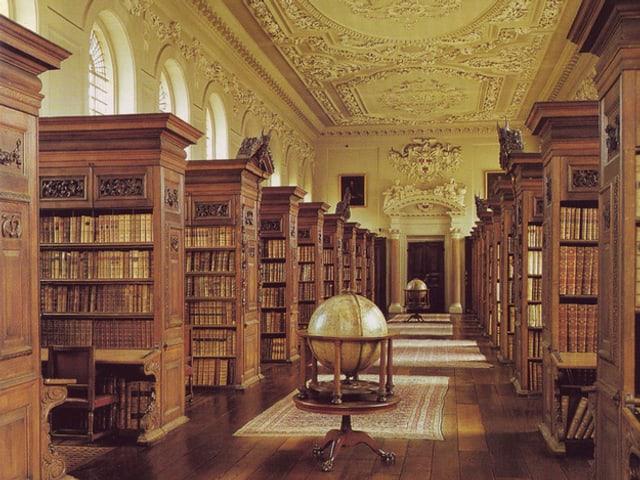 Wow, die Bibliothek der Oxford University ist soo schön! Aber ist das die beste Lernatmosphäre?