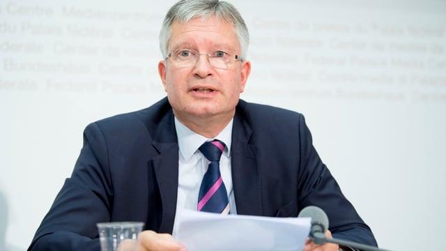 Roland Müller, Direktor des Arbeitgeberverbands