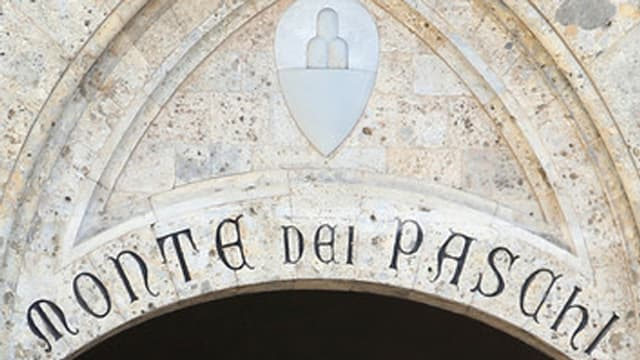 Inschrift Monte dei Paschi