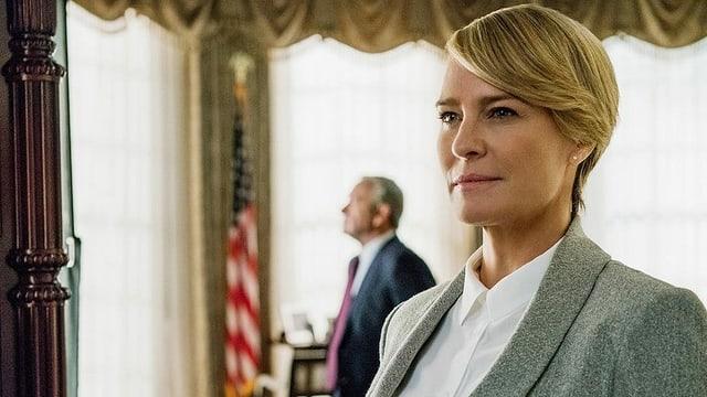 Robin Wright als Claire Underwood.