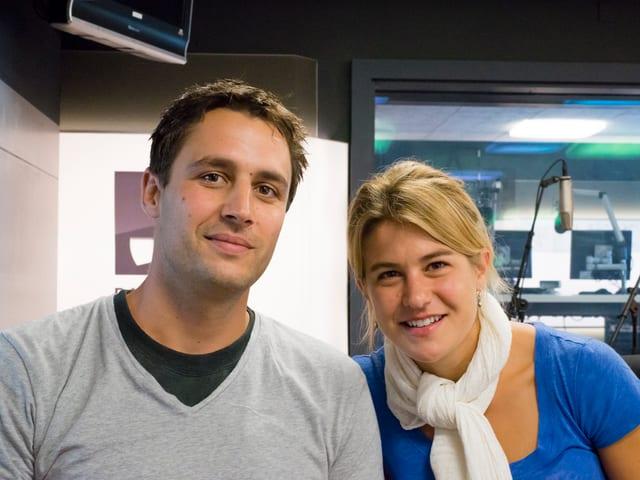 Daniela Widmer und David Och erzählten ihre Geschichte in eigenen Worten.