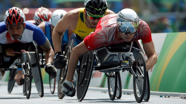 Marcel Hug an den Paralympics in Rio