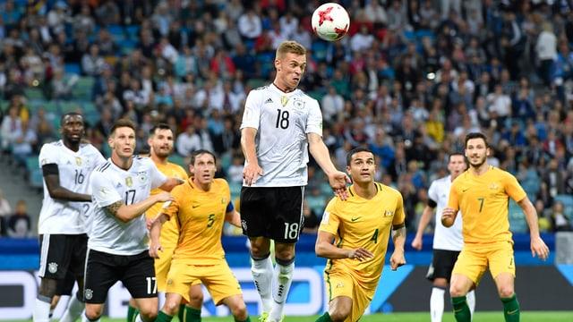 Joshua Kimmich (22) ist in der deutschen Nationalmannschaft zur festen Grösse geworden.