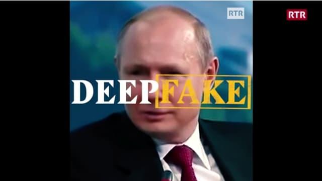 Laschar ir video «Tge è Deepfake?»
