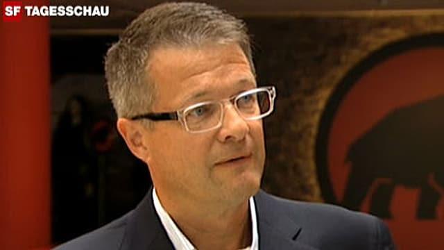 Rolf Schmid, CEO Mammut